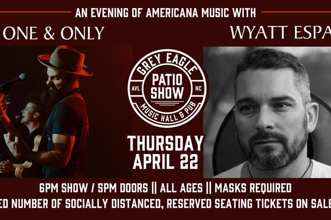 PATIO SHOW: An Evening of Americana with My One And Only & Wyatt Espalin