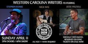 PATIO SHOW: WNC Writers ft. Stephen Evans, Nick Mac, Jesse Frizsell