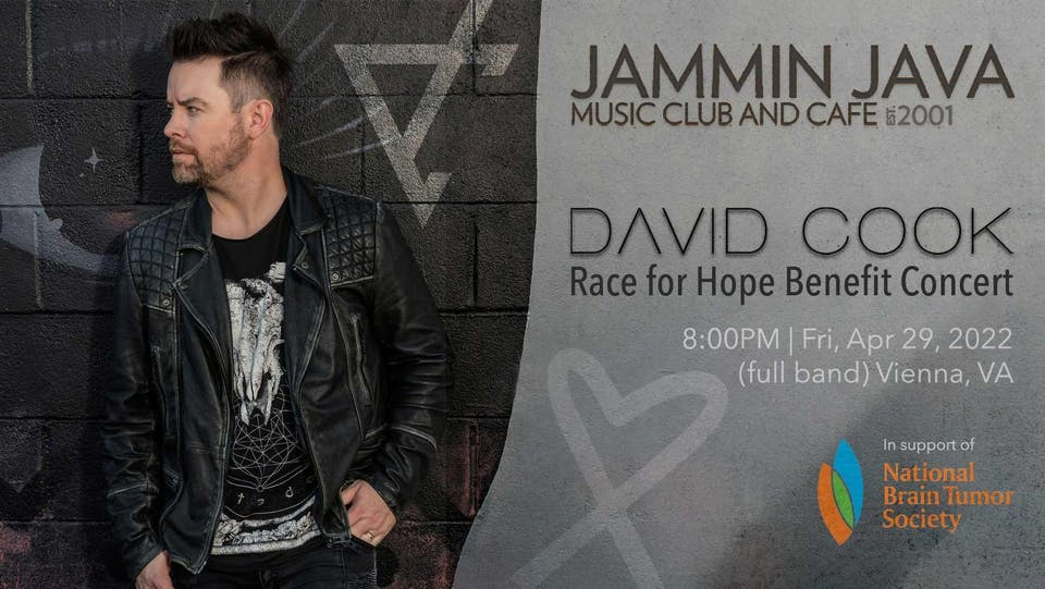 David Cook - Race for Hope Benefit Concert
