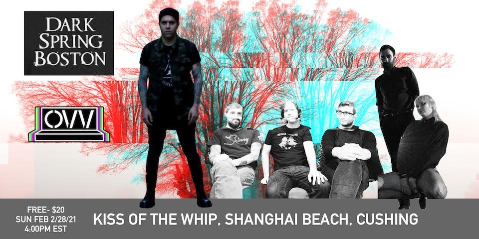 Kiss of the Whip, Shanghai Beach, Cushing