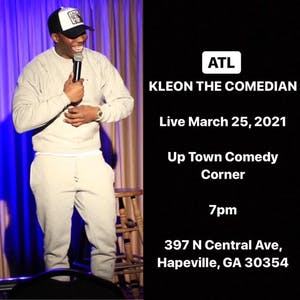 Kleon the Comedian Comedy Tour Live