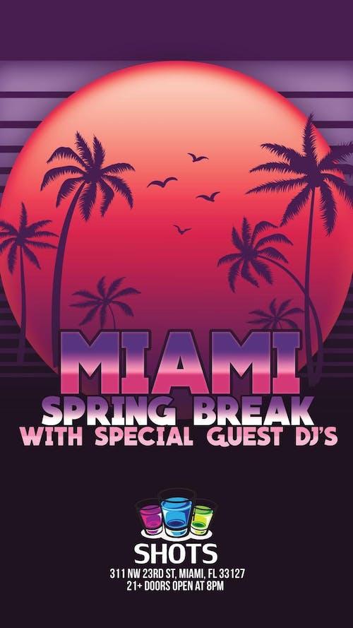 Shots Miami Spring Break 3/11