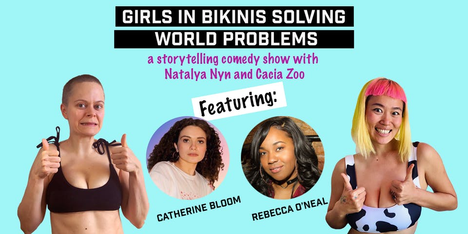 Girls In Bikinis Solving World Problems