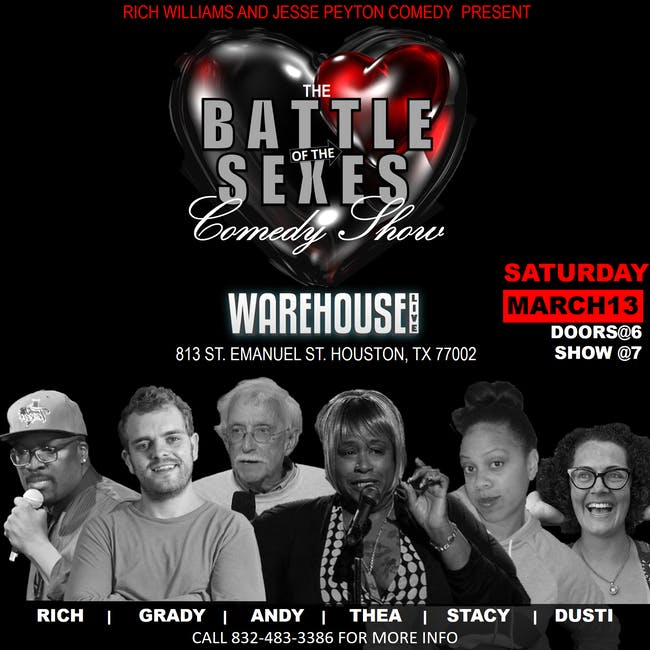 VALENTINE'S DAY BATTLE OF THE SEXES COMEDY SHOW
