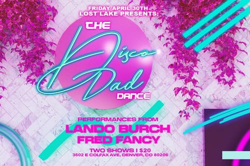 The Disco Dad Dance: Lando Burch & Fred Fancy -- Early Show