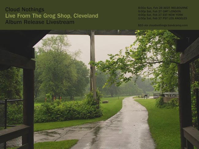 Cloud Nothings - Live From The Grog Shop | Album Release Live Stream