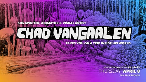LIVE STREAM:  Chad VanGaalen