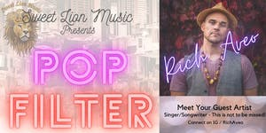 Pop Filter with Guest Artist Rich Aveo Streaming Live!