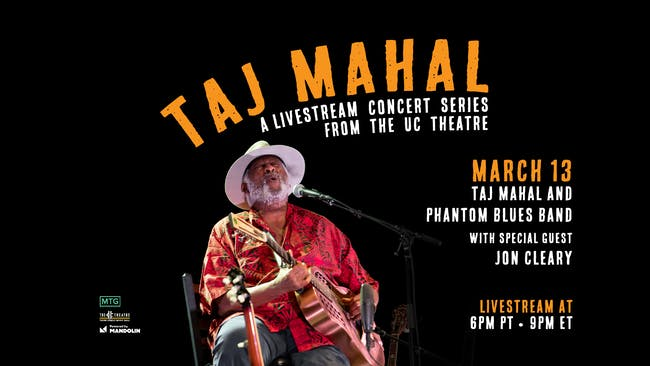 Taj Mahal &  Phantom Blues Band with Special Guest, Jon Cleary