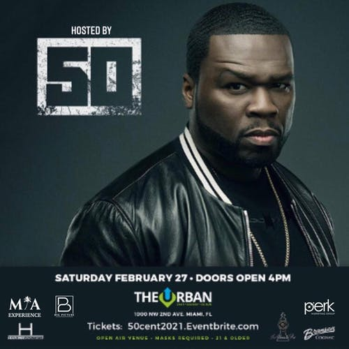 50 Cent at The Urban Miami 2/27