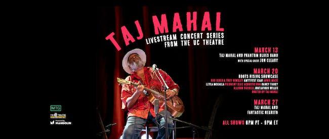 Taj Mahal Livestream Series