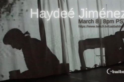 Haydee Jimenez -  Live Stream Twitch.TV/CasbahLiveSD