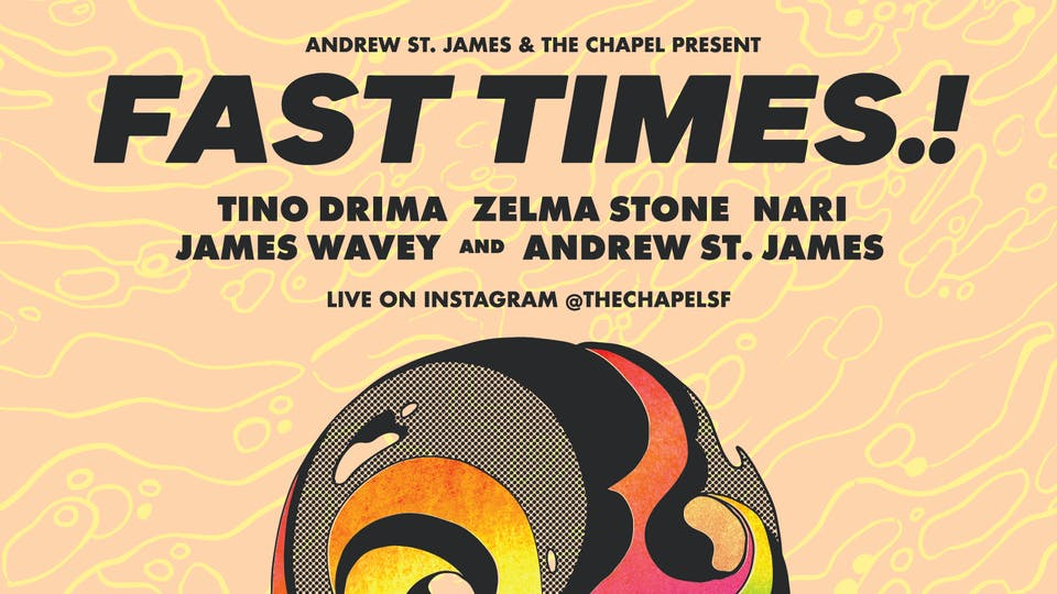 Fast Times.! w/ Tino Drima, Zelma Stone, & more - Live on Instagram