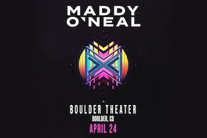 AN EVENING WITH MADDY O'NEAL