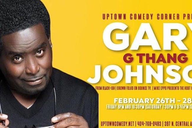 Online Event: Gary GThang Johnson