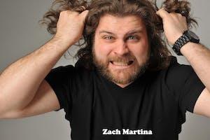 SUNDAY MARCH 21: ZACH MARTINA