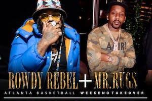 Rowdy Rebel & Mr. Rigs Day Party at Halo Lounge Atlanta, GA 3/6