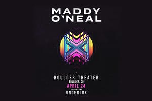 MADDY O'NEAL with UNDERLUX