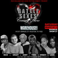 BATTLE OF THE SEXES COMEDY SHOW