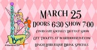 SHOWGIRL BINGO - with HOSTS NOIR LILLET & PIPER DAILY