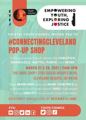 EYEJ Youth Council Pop-Up Shop