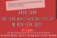 Grog Shop One Year Worstiversary Pop Up!