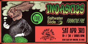 INDASKIES w/ Saltwater Slide, The Phil Lerma Band, & Formative Fire