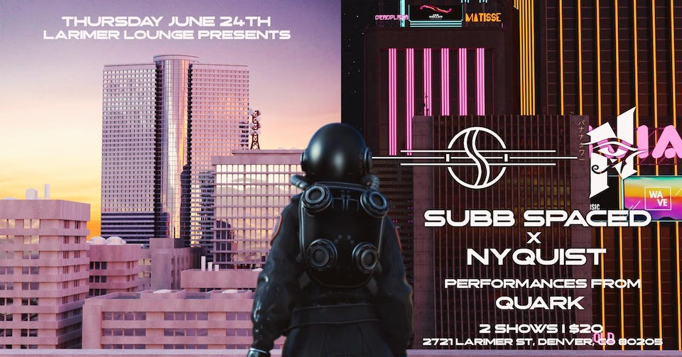 Subb Spaced / Nyquist / Quark -- Early Show