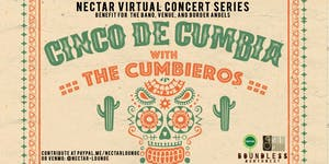 NVCS  presents CINCO DE MAYO LIVESTREAM feat THE CUMBIEROS