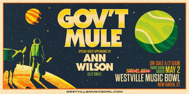 Gov't Mule with Ann Wilson