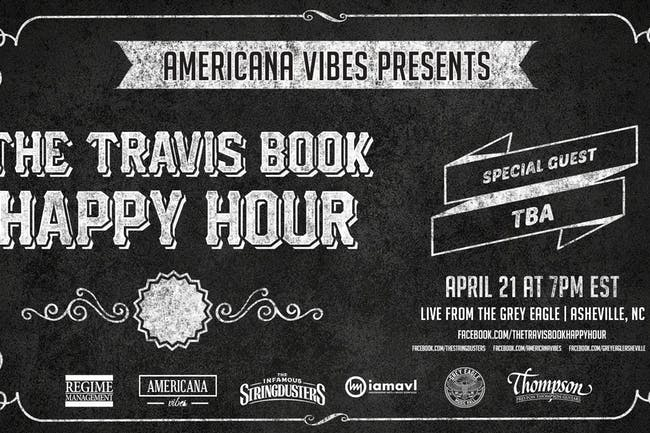 CANCELED: The Travis Book Happy Hour w/special guest TBA