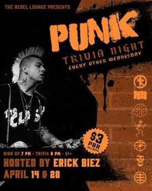 PUNK TRIVIA NIGHT