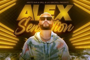 Alex Sensation at LA V Nightclub Miami 4/17