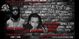 Back 2 the Underground Tour ft. Yung Simmie x Lil Cobaine