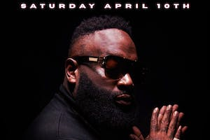 Rick Ross at To the Moon Midnight Hour Miami 4/10