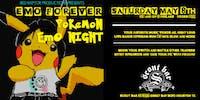 EMO FOREVER - Pokemon Emo Night