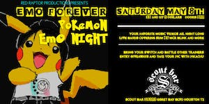 EMO FOREVER - Pokemon Emo Night