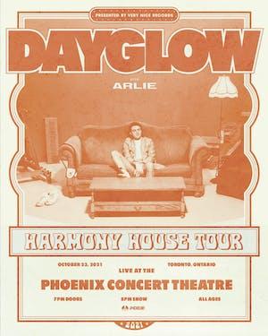 Dayglow - The Harmony House Tour