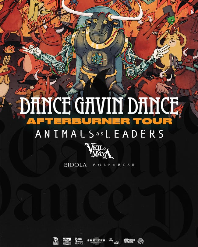 Dance Gavin Dance  at Warehouse Live - Night 2