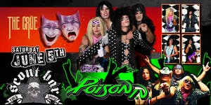 THE CRUE- a tribute to Motley Crue & POISON I.V- a tribute to Poison