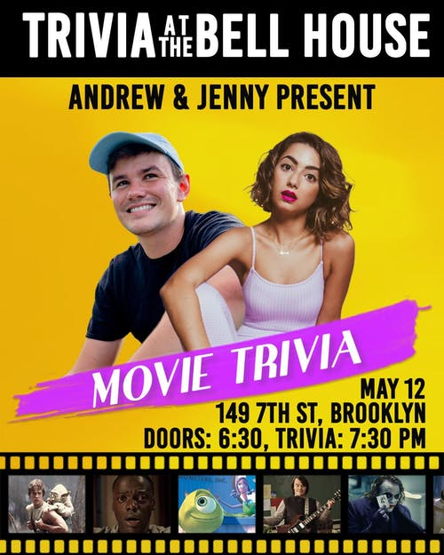 Trivia at The Bell House: Movie Trivia