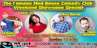 The Famous 8 Comedian Showcase  starring Mitch Burrow!