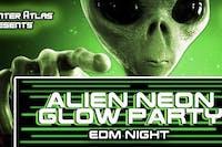 ALIEN NEON GLOW PARTY