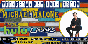 Michael Malone as seen on Comedy Central, Laughs on Fox and more!