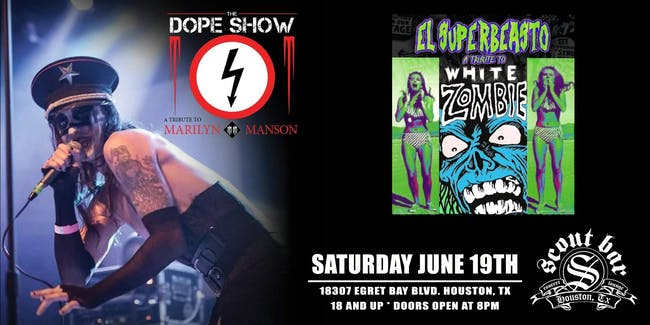 THE DOPE SHOW- a tribute to Marilyn Manson