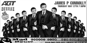 James P. Connolly as seen on America's Got Talent, Netflix, HBO and more!