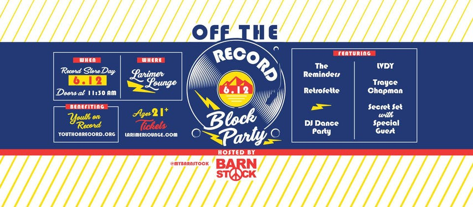 Off The Record Block Party ft. Trayce Chapman