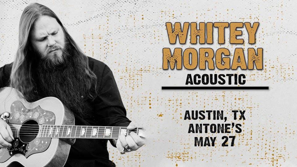 Whitey Morgan Acoustic Duo
