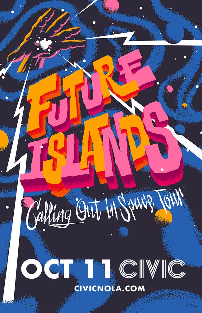 Future Islands: Calling Out In Space Tour