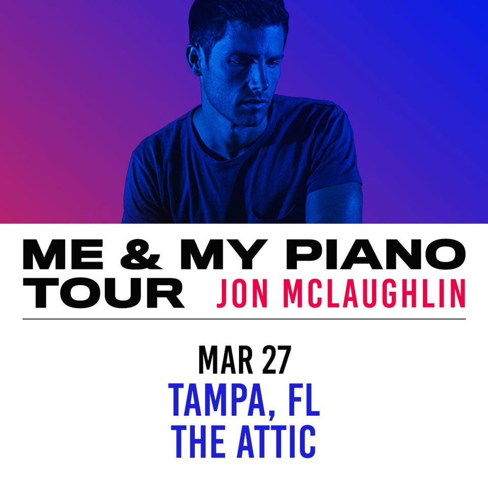 Jon McLaughlin w/ Marielle Kraft